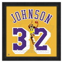NBA Lakers # 32 Magic Johnson 20 Uniframe Photo File