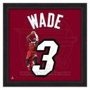 NBA heat #3 ドウェイン Wade 20x20 Uniframe Photo File