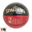 NBA basketball black / red Spalding /SPALDING (UNDERGLASS)