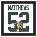 NFL Packers # 52 clay Matthews 20 Uniframe Photo File