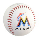 MLB Marlins ball rolling /Rawlings (The Original Team Logo Baseball)
