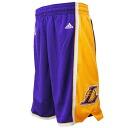 Adidas Los Angeles Lakers NBA Revolution Swingman shorts (road)