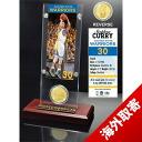 And NBA warriors Stephen Curry Highland Mint / Highland Mint (Ticket & Bronze Coin Acrylic Desk Top)