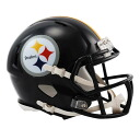 NFL Steelers mini helmet Liddell /Riddell (Mini Replica Helmet (SPEED))