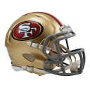 49ers NFL mini helmet Liddell /Riddell (Mini Replica Helmet (SPEED))