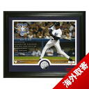 -MLB Yankees Bernie Williams photo frame Highland Mint / Highland Mint (Career Stats Silver Coin Photo Mint)
