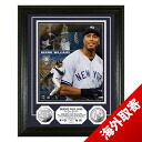 -MLB Yankees Bernie Williams photo frame Highland Mint / Highland Mint Retirement Day Silver Coin Photo Mint