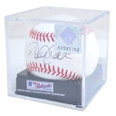 MLB Yankees Derek Jeter autographed autographed ball rolling /Rawlings (Official Ball With Sign (Case))