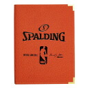 NBA binder A4 size (orange) SPALDING