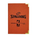 NBA binder A5 size (orange) SPALDING
