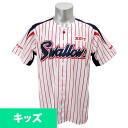Tokyo Yakult Swallows Albirex.s form 2013 Zett sublimation print Jr. plain (home)