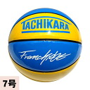 TACHIKARA basketball yellow / blue (COLOR OF CITY Yellow-Blue BASKETBALL)