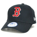 New Era MLB Boston Red Sox Cotton Twill Cap (for junior)