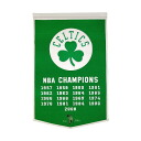 NBA Boston Celtics Dynasty banner 24X38 Winning Streak