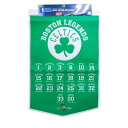 NBA Boston Celtics Legends banner 24X38 Winning Streak