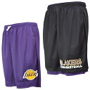 NBA Lakers shorts black Mitchell & Ness /Mitchell & Ness (REVERSIBLE MESH SHORTS)