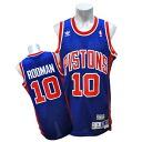 NBA Pistons #10 Dennis Rodman Soul Swingman uniform (road) Adidas