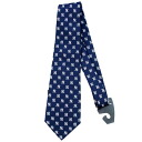 MLB New York Yankees Repeat Woven Poly tie Eagle Wings