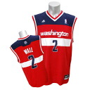 Adidas NBA wizards # 2 John wall Revolution Replica Jersey (New Road)