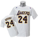 NBA Lakers #24 Kobe Bryant GAME TIME T-shirt (white) Adidas