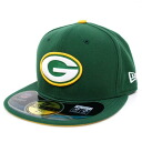 NFL Green Bay Packers Sideline 59FIFTY Football Structured Fitted cap (dark green / white) New Era