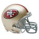 49ers NFL 미니 헬멧 리들/Riddell (Mini Replica Helmet (VSR4))