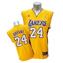 NBA Lakers #24 Kobe Bryant Revolution Replica jersey (home) Adidas