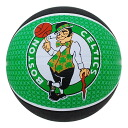 NBA Boston Celtics TEAM RUBBER ball 2011 (# 5 balls-black/green) SPALDING