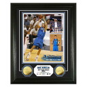 2011 NBA Dallas Mavericks #41 dark ノビツキー Finals Dirk Nowitzki MVP 24KT Gold Coin photo mint The Highland Mint