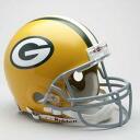 NFL 그린 베이・팍카즈 Throwback Authentic On-Field 헬멧(61-79) Riddell