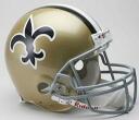 NFL 뉴올리언스・세인트 Throwback Authentic On-Field 헬멧(67-75) Riddell