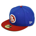 NPB Japan ham 59FIFTY alter logo Cap (NH) (blue/red) New Era