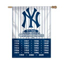 MLB New York Yankees MLB 27 Times Champions Vertical flag Wincraft