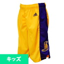 Adidas NBA Los Angeles Lakers Youth Revolution 30 replica shorts (home)