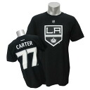 2013 (black) NHL Kings #77 Jeff Carter Name&Number T-shirt Reebok