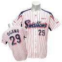 2013 Tokyo Yakult Swallows #29 Yasuhiro Ogawa replica uniform sublimation print (home) Zett