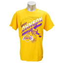 NBA Lakers #32 Earvin Johnson Retro Player T-shirt (gold) Majestic