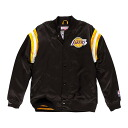 NBA Los Angeles Lakers Division Satin jacket (black) Mitchell&Ness