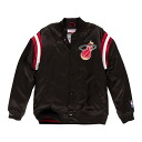 NBA Miami Heat Division Satin jacket (black) Mitchell&Ness