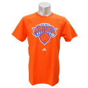 NBA New York Knicks Full Primary Logo Short Sleeve T-shirt (orange) Adidas