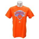 NBA New York Knicks Full Primary Logo Short Sleeve T-shirt (orange) Adidas