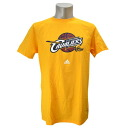 NBA Cleveland Cavaliers Full Primary Logo Short Sleeve T-shirt (gold) Adidas