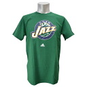 NBA Utah Jazz Full Primary Logo Short Sleeve T-shirt (green) Adidas