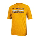2013 NBA Lakers Christmas Day Practice Performance T-shirt (gold) Adidas