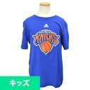 NBA New York Knicks Youth Full Primary Logo T-shirt (royal) Adidas