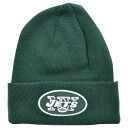 47 NFL New York Jets Raised Cuffed Beanie knit cap (deep green) Brand
