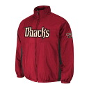 MLB Arizona Diamondbacks Authentic Double Climate On-Field jacket (brick) Majestic