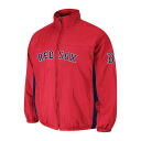 MLB Boston Red Sox Authentic Double Climate On-Field jacket (red) Majestic