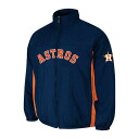 MLB Houston Astros Authentic Double Climate On-Field jacket (navy) Majestic
