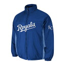 MLB Kansas city Royals Authentic Double Climate On-Field jacket (blue) Majestic